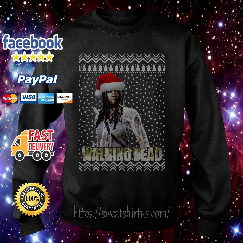 Michonne Santa The Walking Dead Christmas shirt, sweater