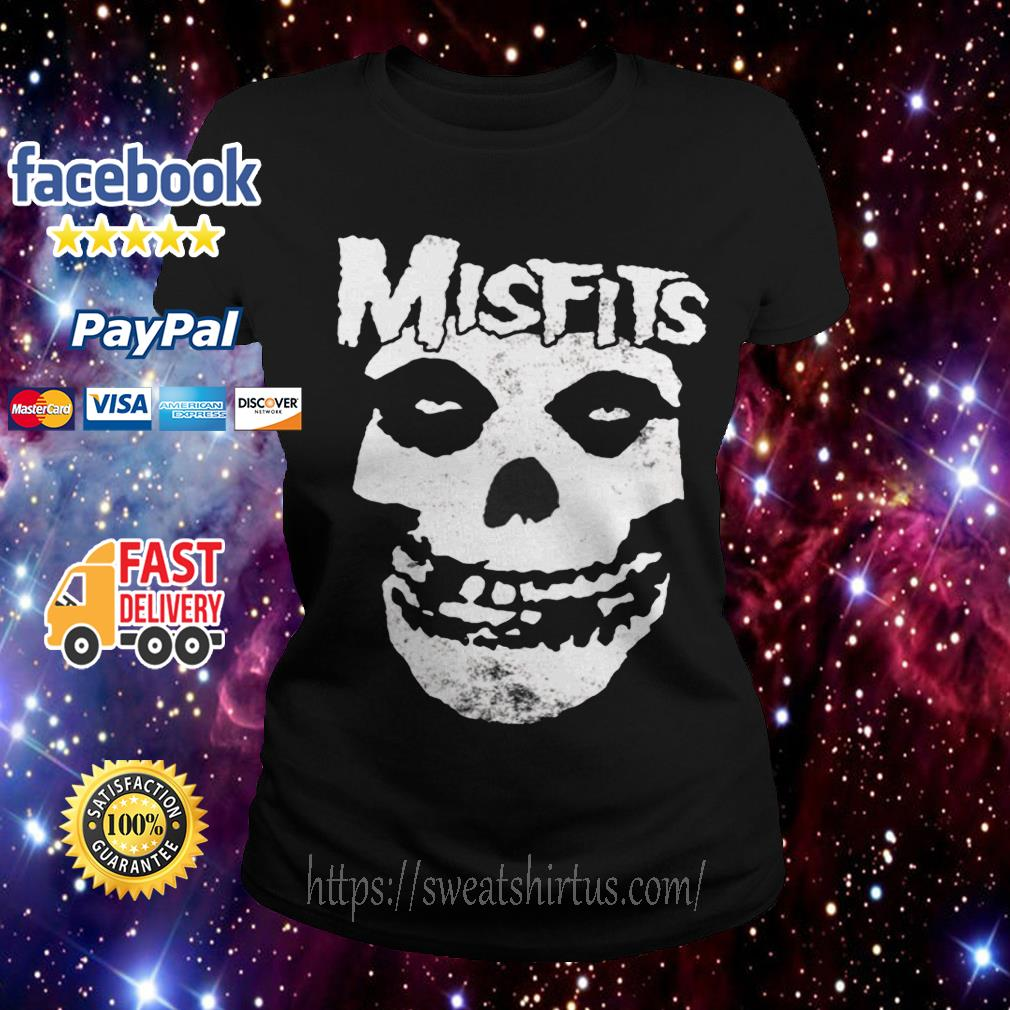 Misfits Skull Merch Ladies Tee
