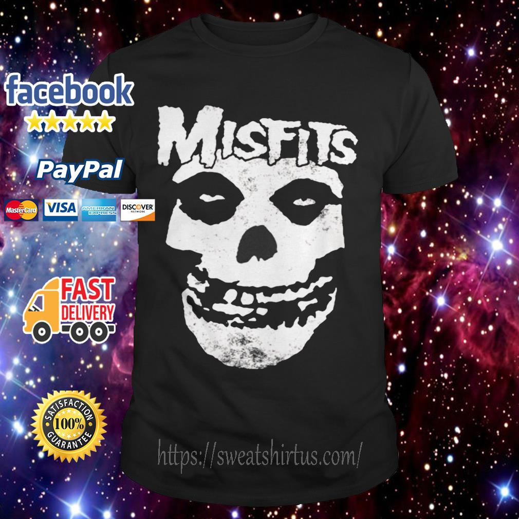 Misfits Skull Merch shirt