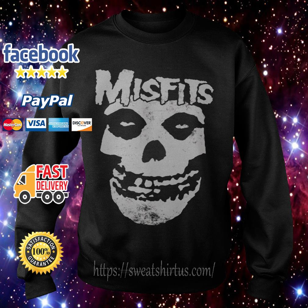 Misfits Skull Merch Sweater