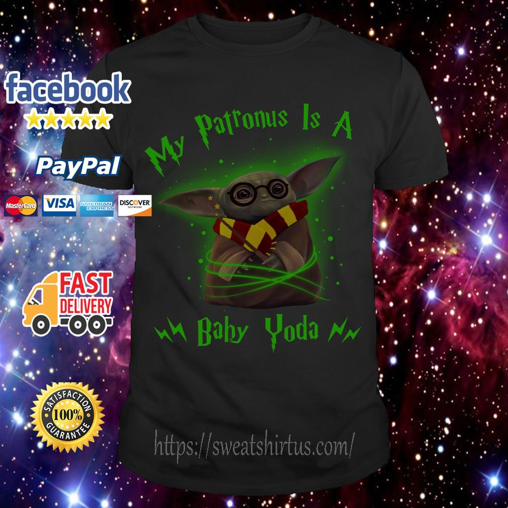 My Patronus is a baby Yoda shirt