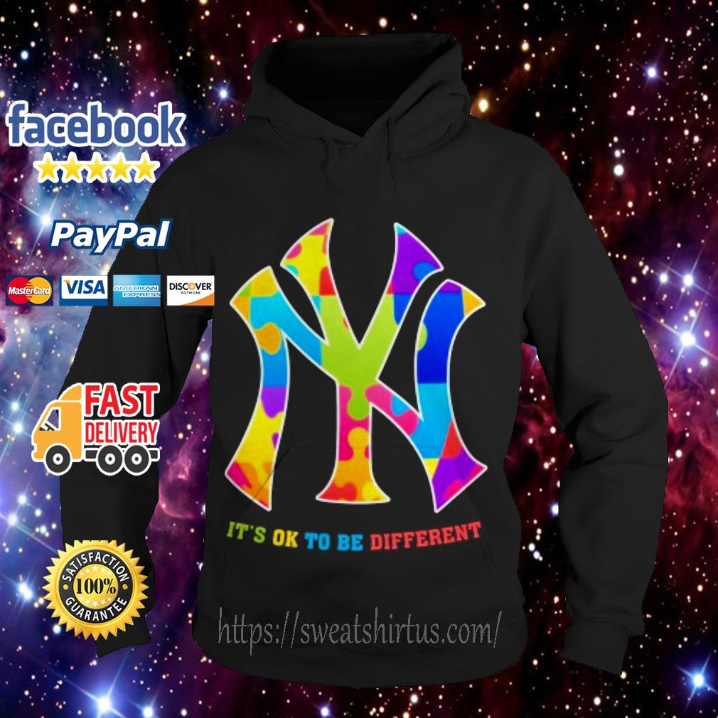New York Yankees It's ok to be different Hoodie