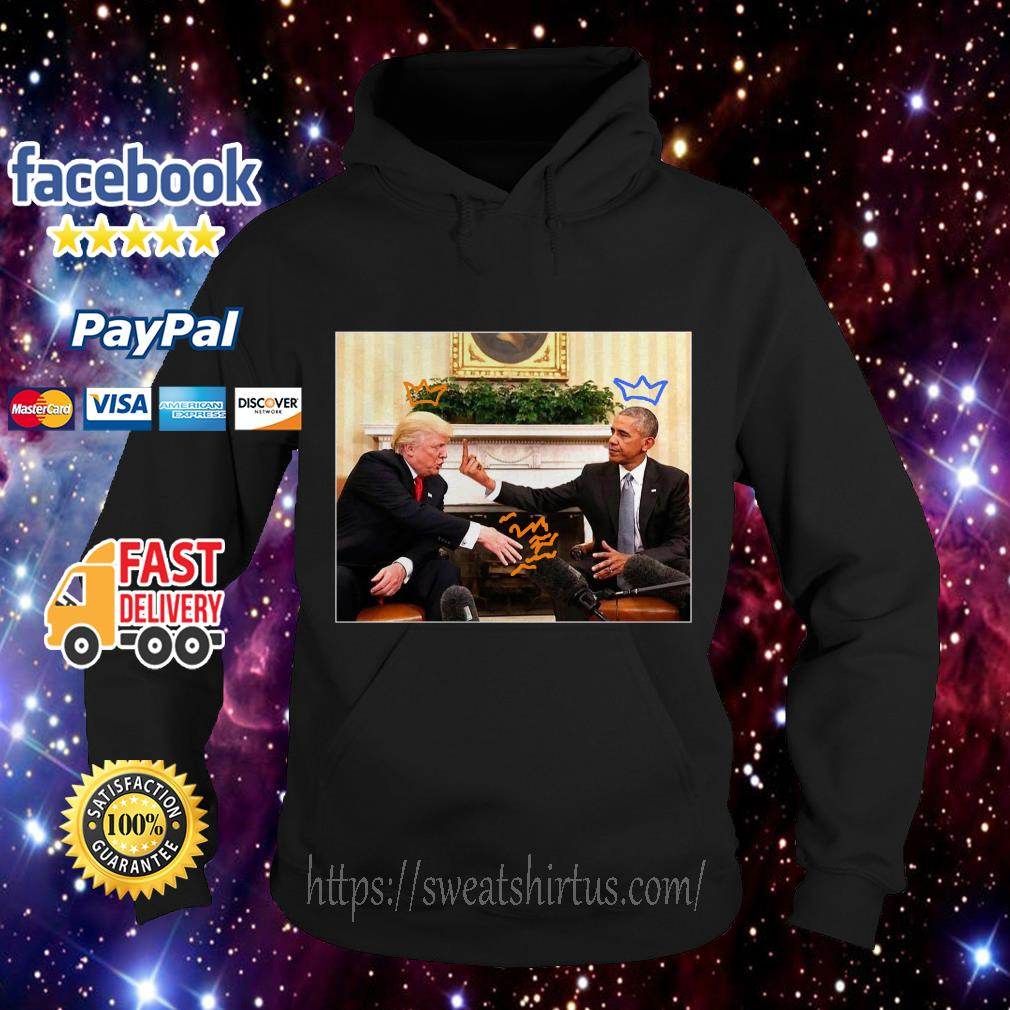 Obama fuck Donald Trump for 2020 Hoodie