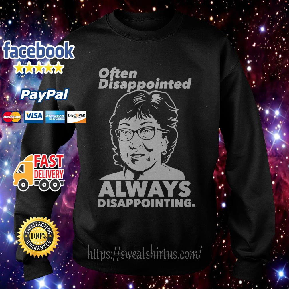 Often Disappointed always Disappointing Sweater