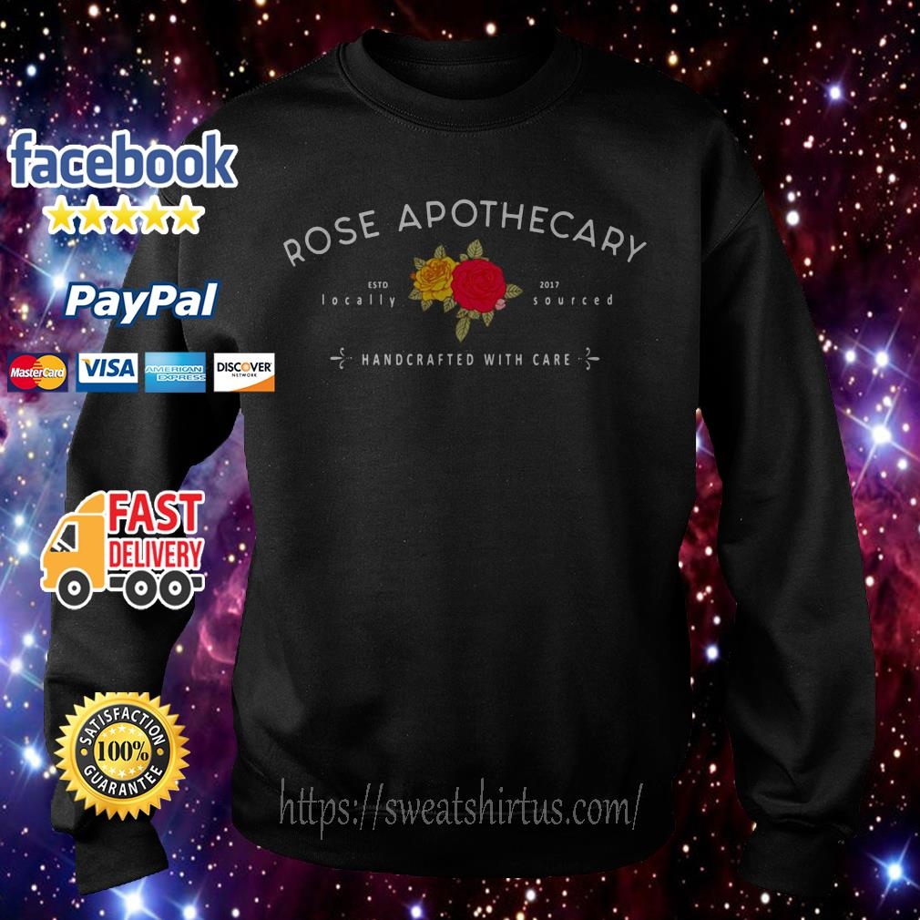 Rose Apothecary Handcrafted with care Sweater
