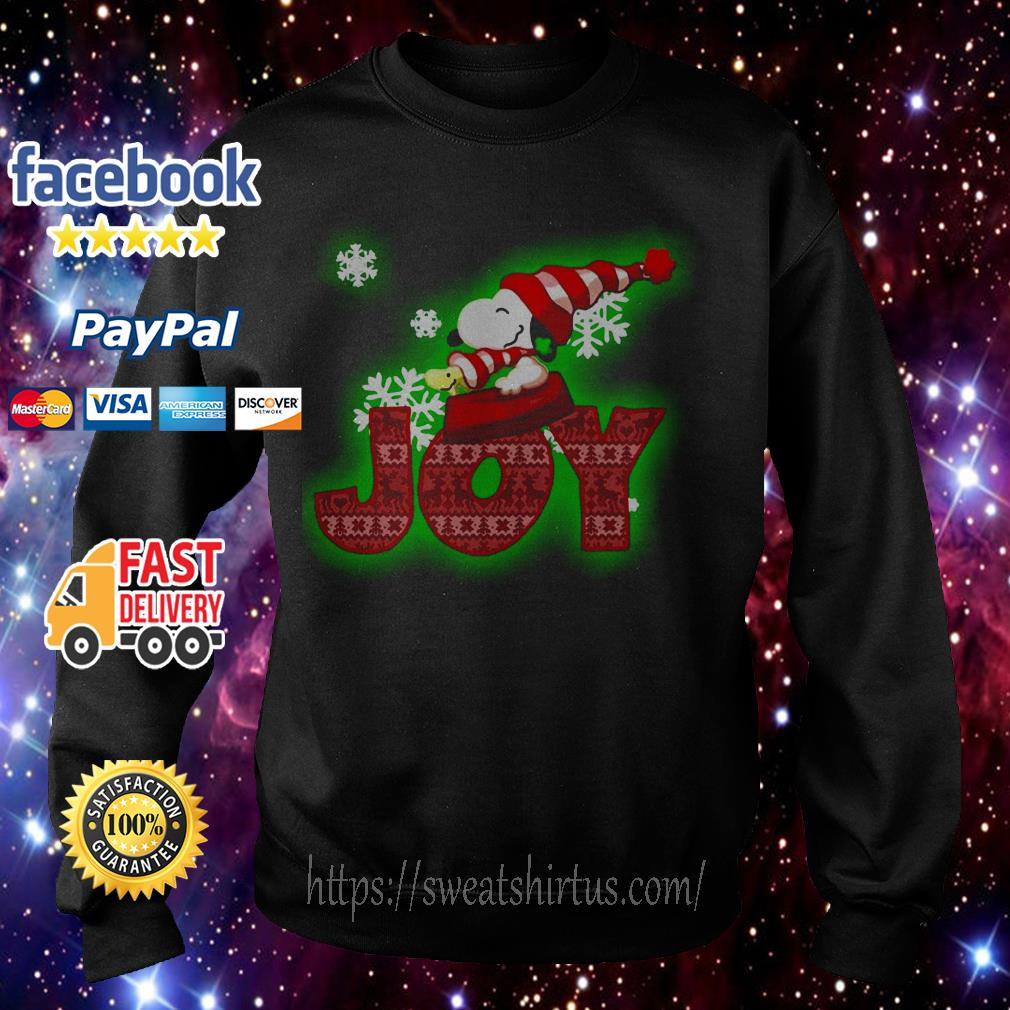 Snoopy and Woodstock Joy Christmas shirt, sweater