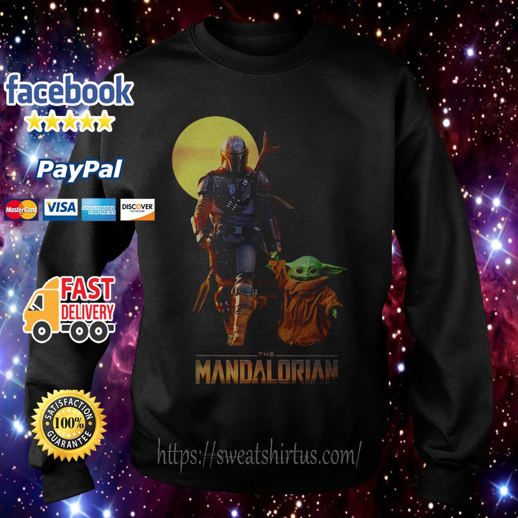 Star Wars The Mandalorian and Baby Yoda Sweater