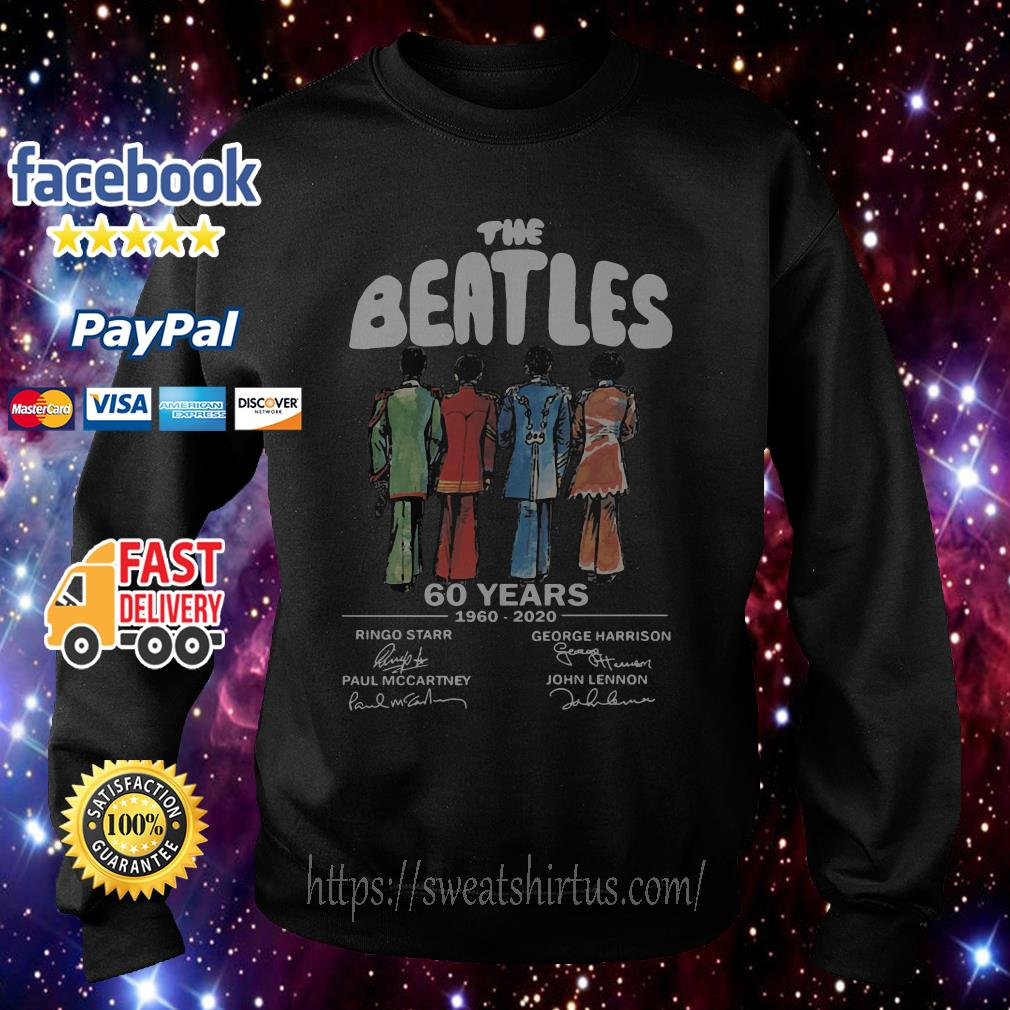 The Beatles 60 Years 1960-2020 signature Sweater