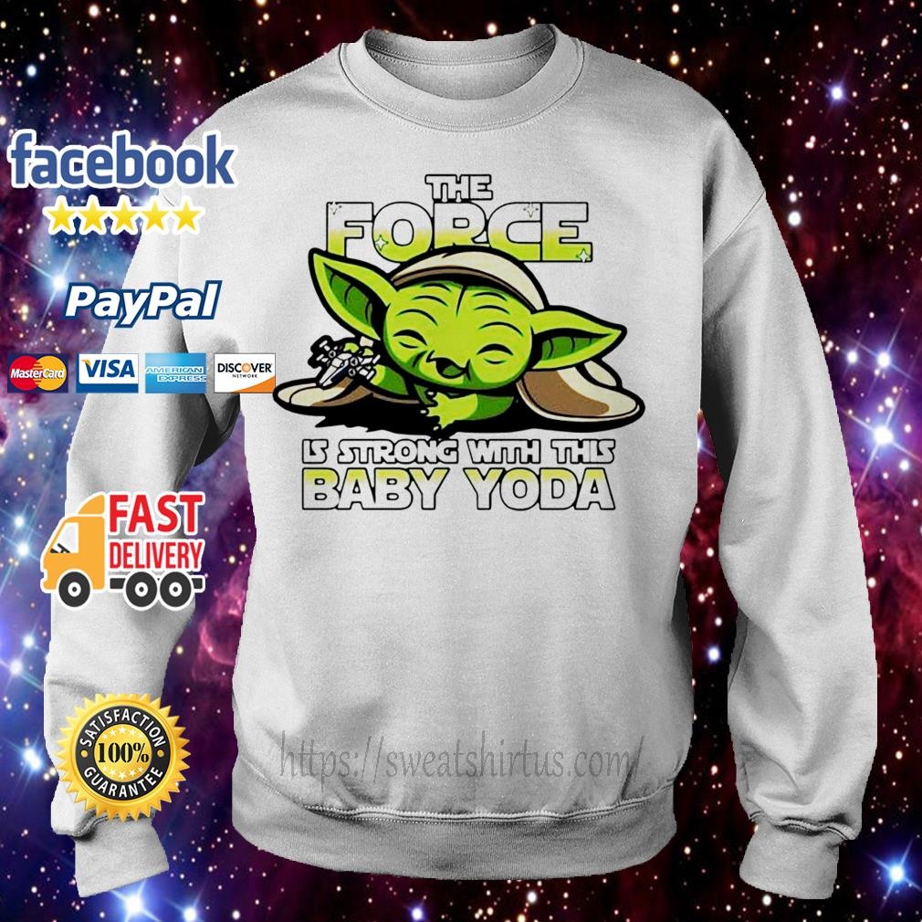 The Force is strong with this Baby Yoda Sweater