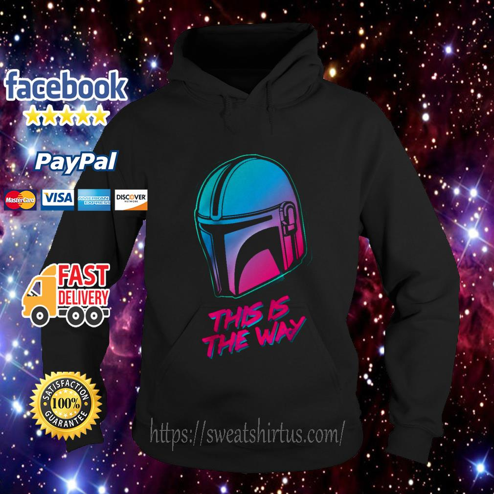 The Mandalorian this is the Way Hoodie