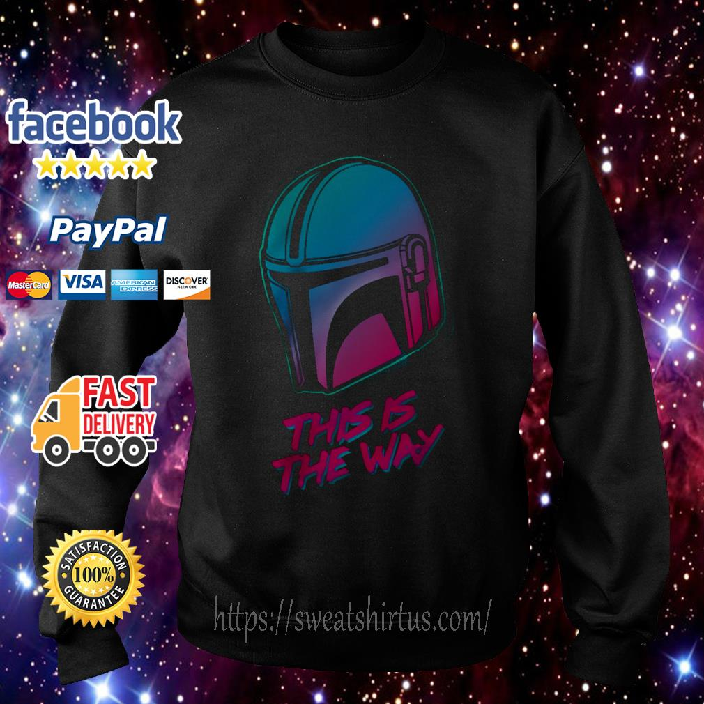 The Mandalorian this is the Way Sweater