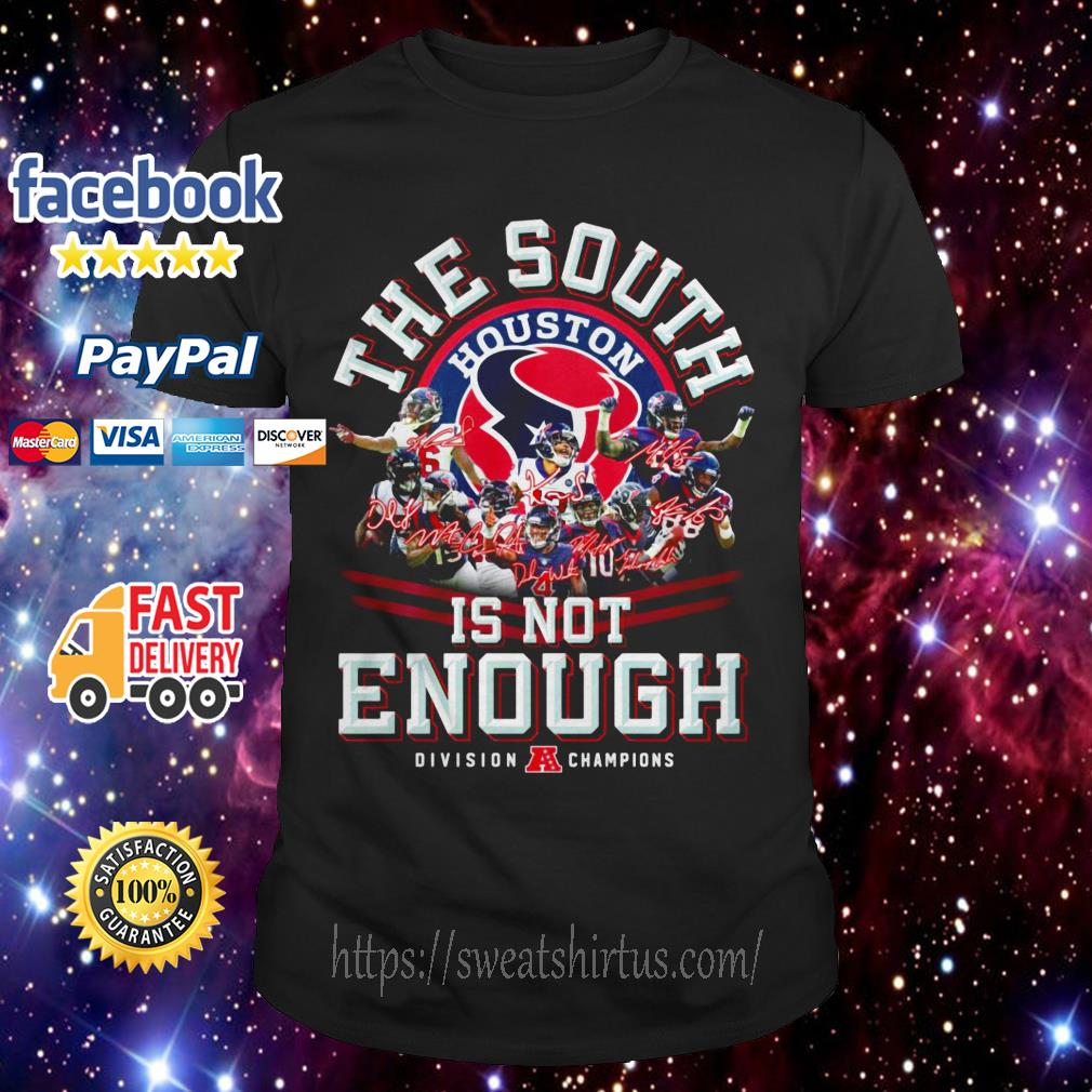 The South Houston is not Enough Division champions shirt
