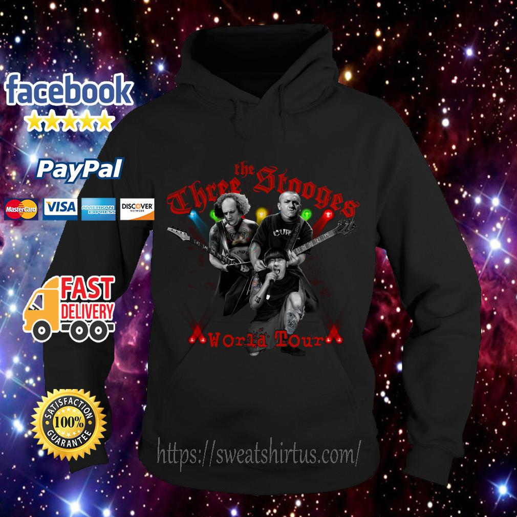 The Three Stooges World tour Hoodie