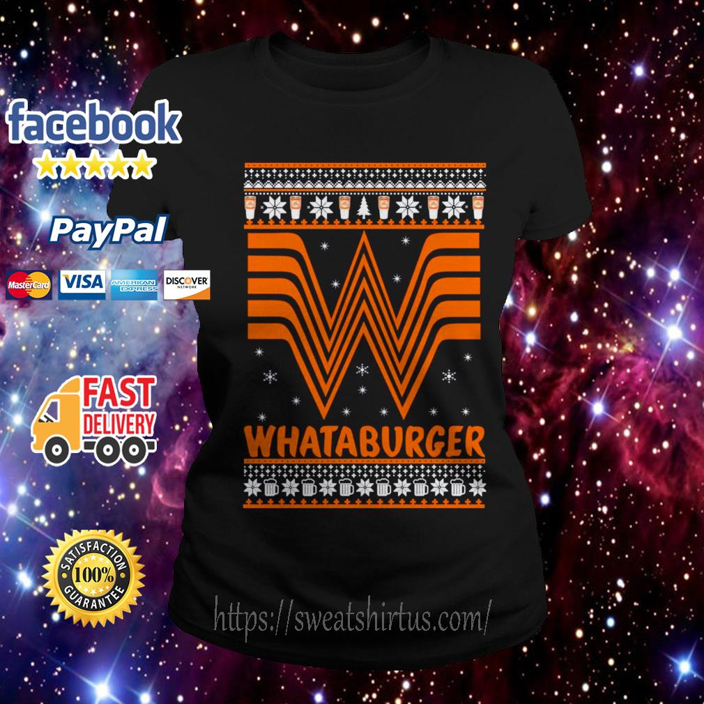 Whataburger Christmas Ladies Tee