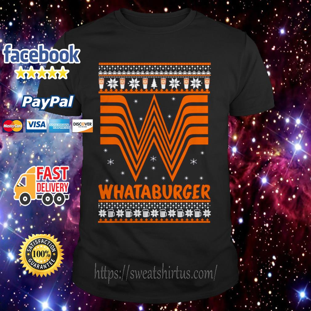 Whataburger Christmas Guys shirt