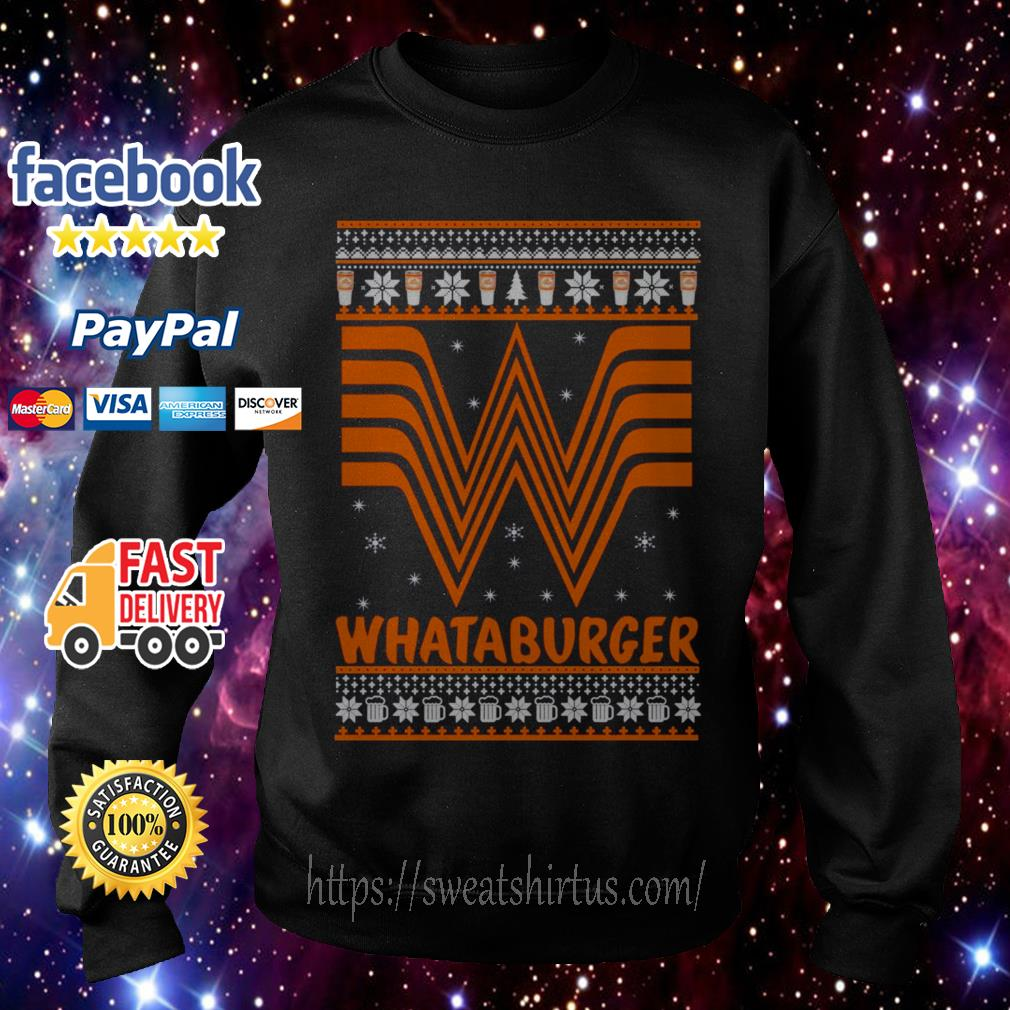 Whataburger Christmas shirt, sweater