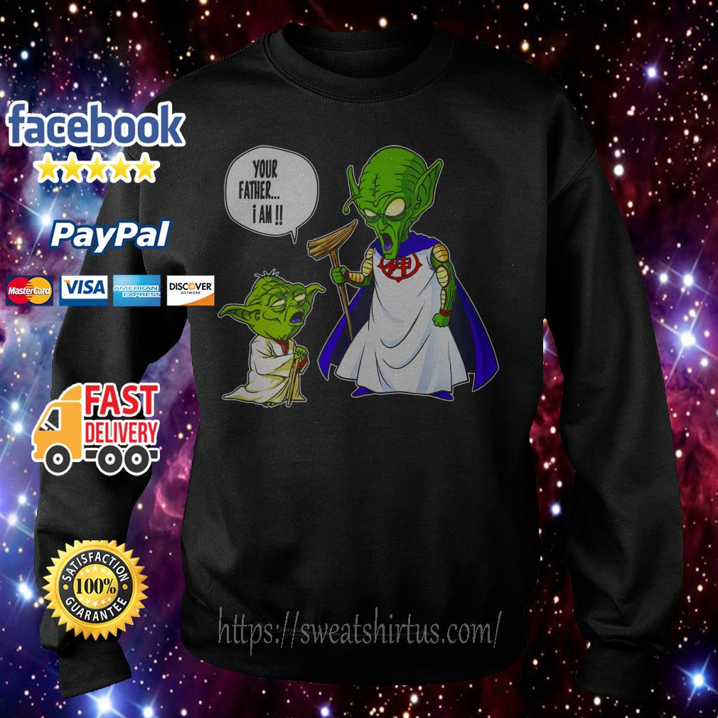 Yoda and Piccolo your father I am Sweater
