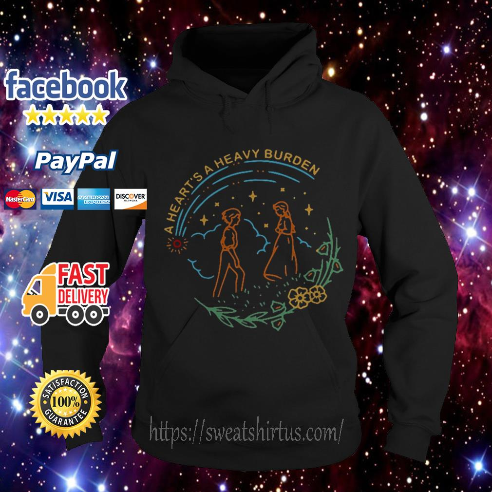 Howl and Sophie a heart's a heavy burden Hoodie