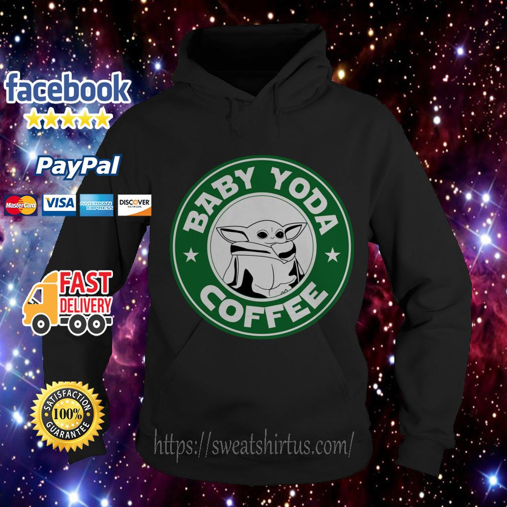 The Mandalorian Baby Yoda coffee Hoodie