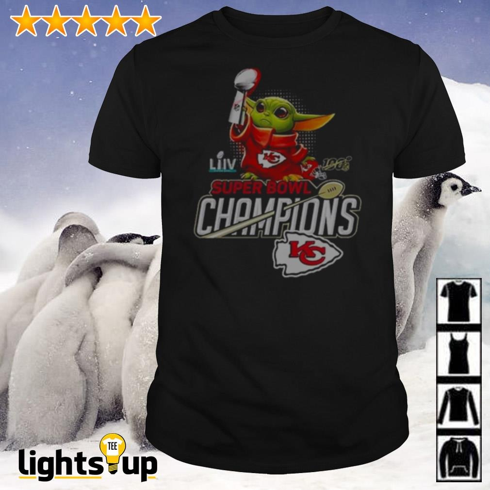 Baby Yoda Super Bowl LIV Champions Kansas City Chiefs shirt