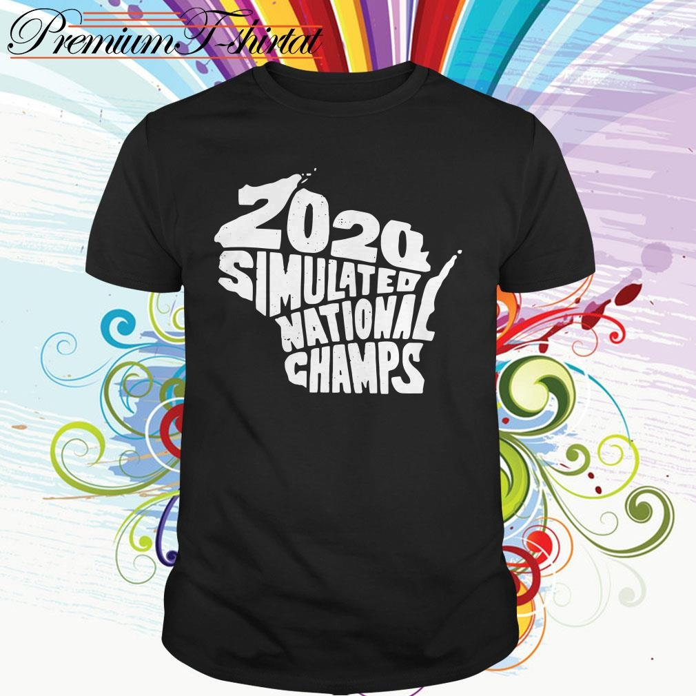 2020 Simulated national champs shirt