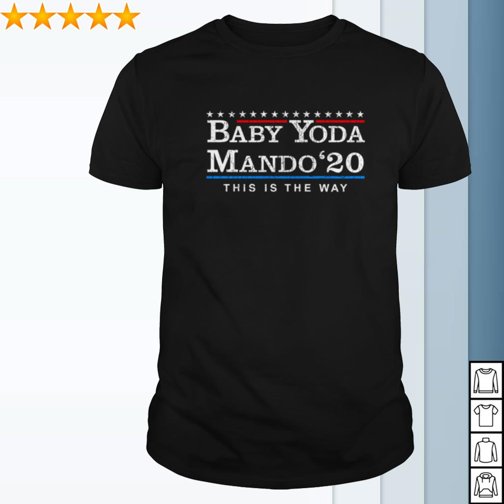 The Mandalorian Yoda Mando 2020 this is the way shirt