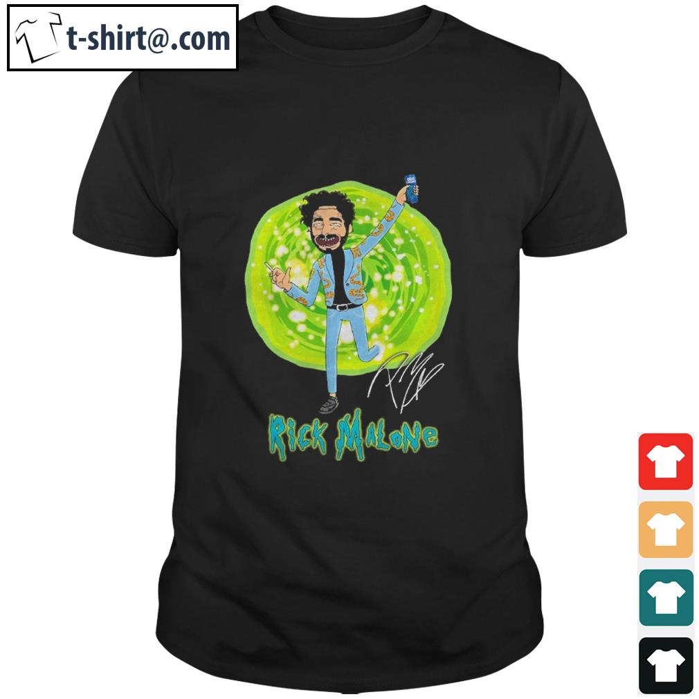 Rick and Morty Rick Malone signature shirt