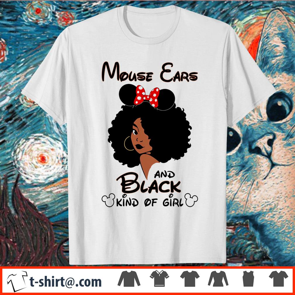 Mouse ears and black kind of girl shirt