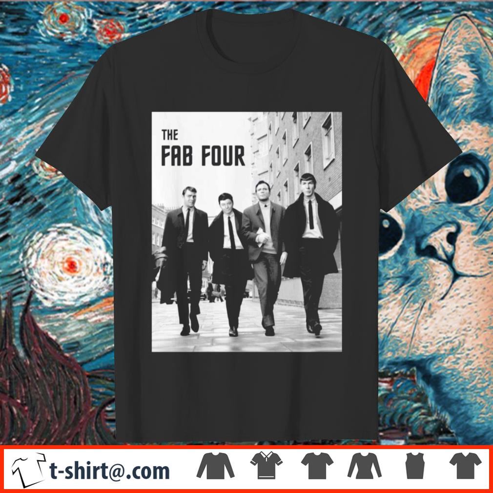Star Trek the fab four shirt