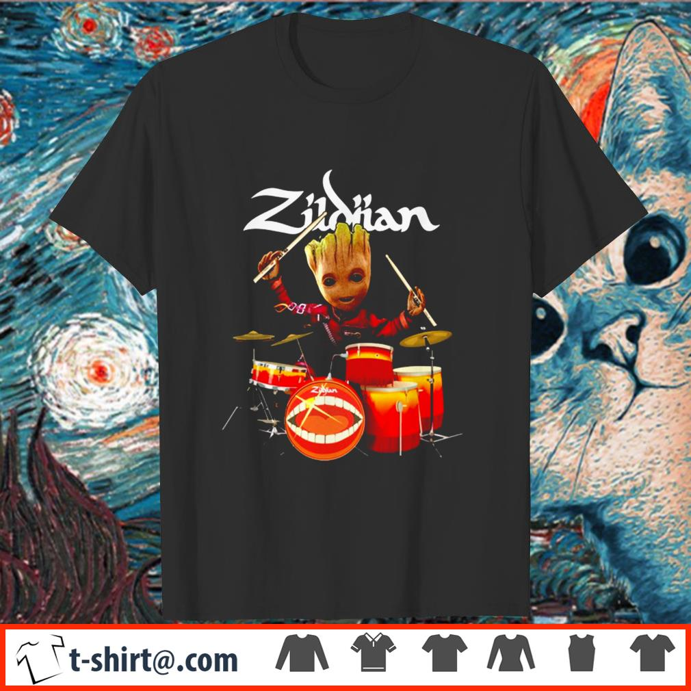 Zildjian the only serious choice drumming Groot shirt
