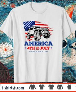 Jeep America 4th of July Independence day shirt