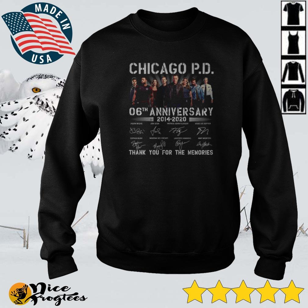 Chicago P.D 06 anniversary 2014 – 2020 thank you for the memories shirt