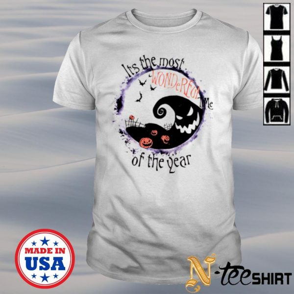 Halloween its the most wonderful time of the year shirt