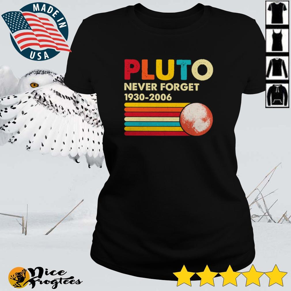 Pluto never forget 1930 – 2006 sunset shirt